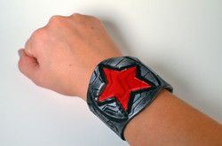 Winter Soldier Leather Cuff
