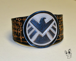 Agent's of SHIELD leather cuff