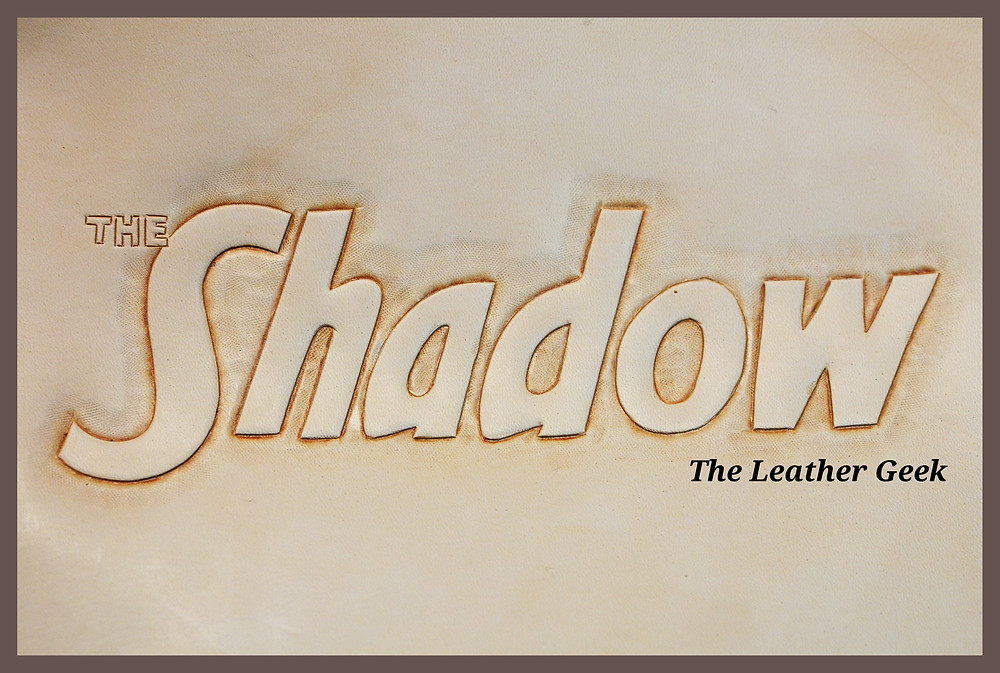 The Shadow tooled title
