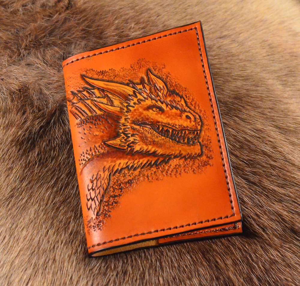 Leather Geek Drogon Journal