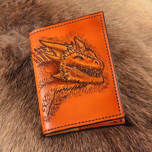 Drogon the Dragon, Targaryen House Game of Thrones Refillable Leather Journal
