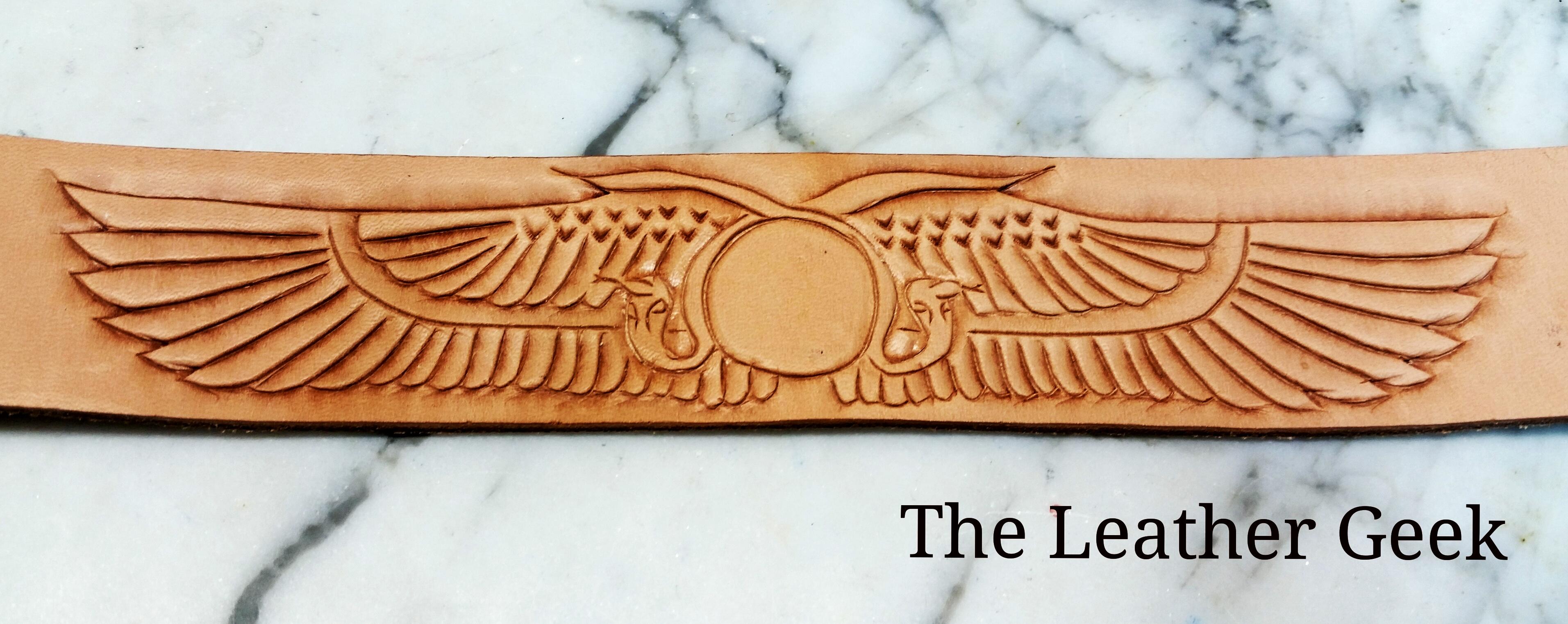 Egyptian Leather Bracelet