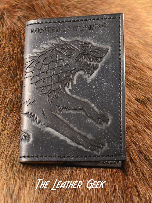 Stark Game of Thrones Refillable Leather Journal