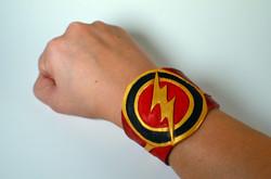 The Flash Leather Cuff