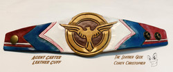 Agent Carter Leather Cuff
