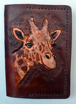 Giraffe Mini Journal Cover