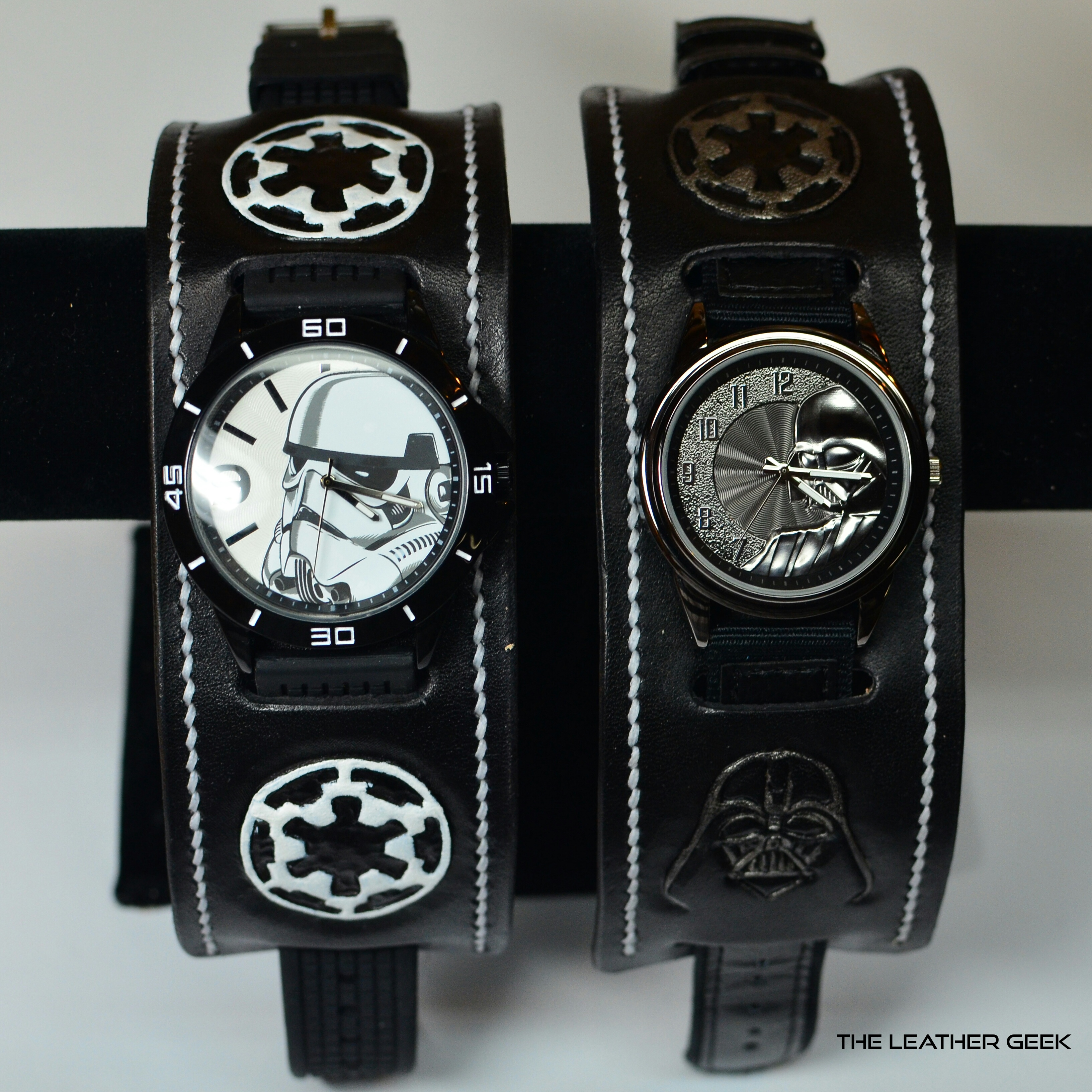 Stormtrooper and Darth Vader Watch