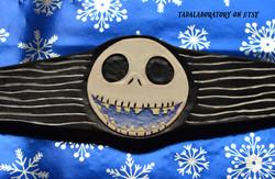 Jack Skellington leather cuff