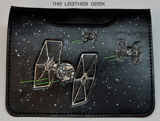 The Force Awakens Leather Tablet Cover