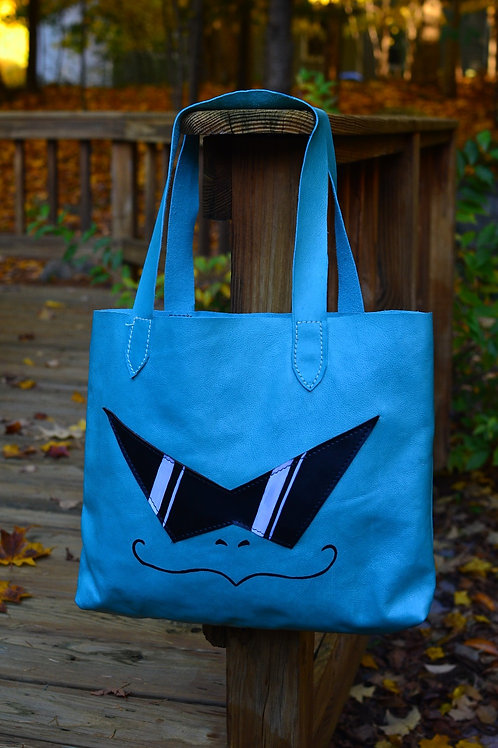 Squirtle Squad Leather Tote Bag