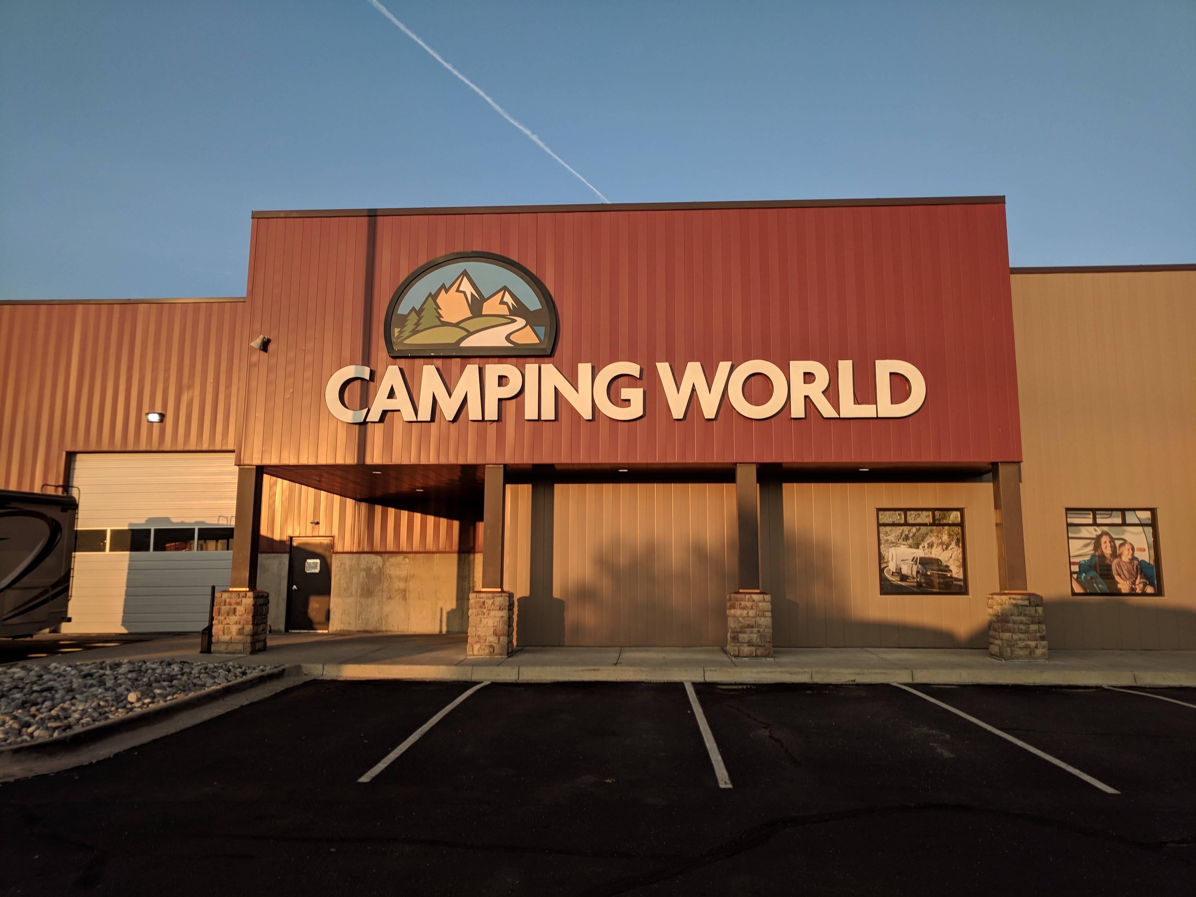 Camping World Business Sign