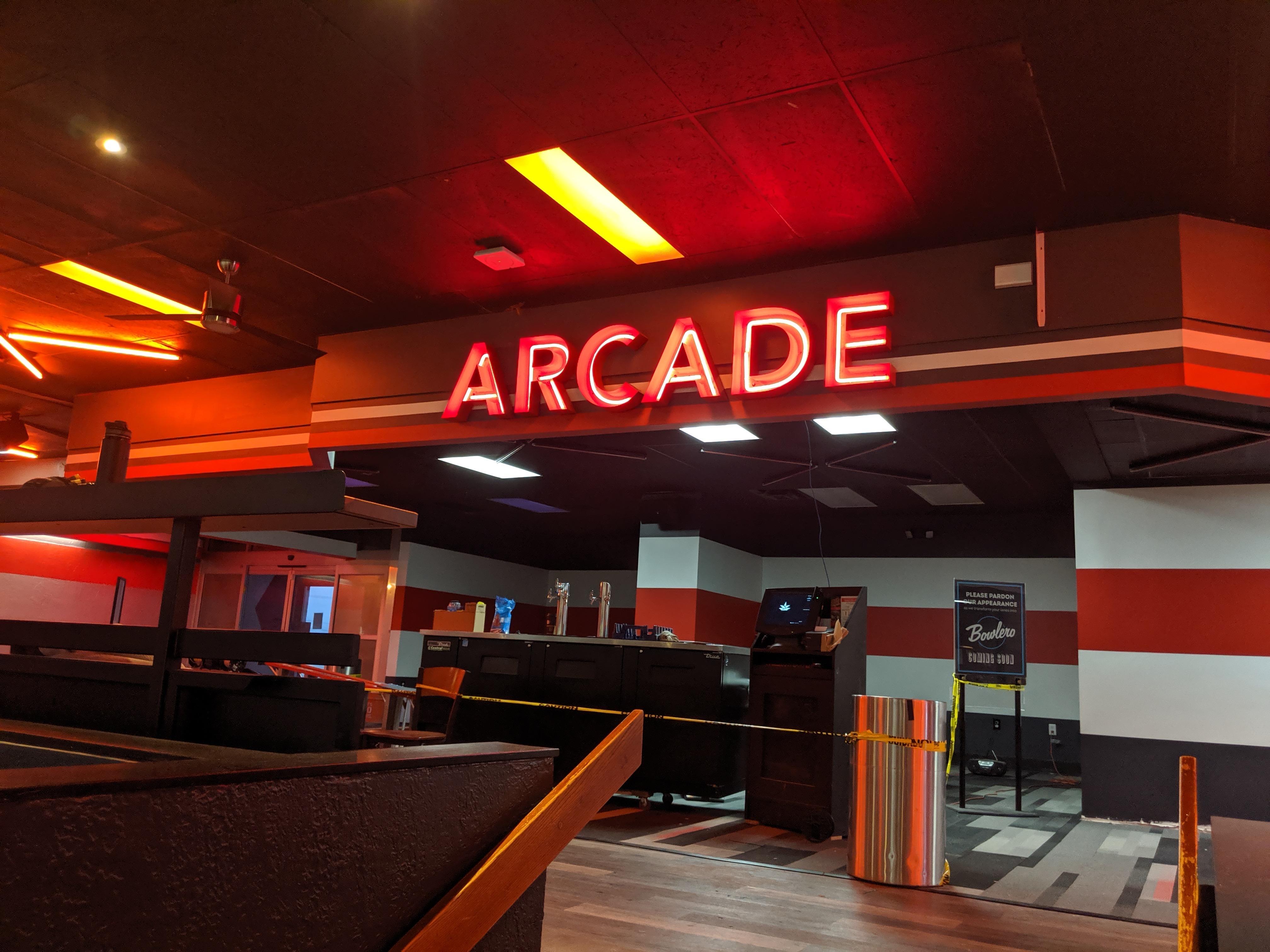 Arcade Signs