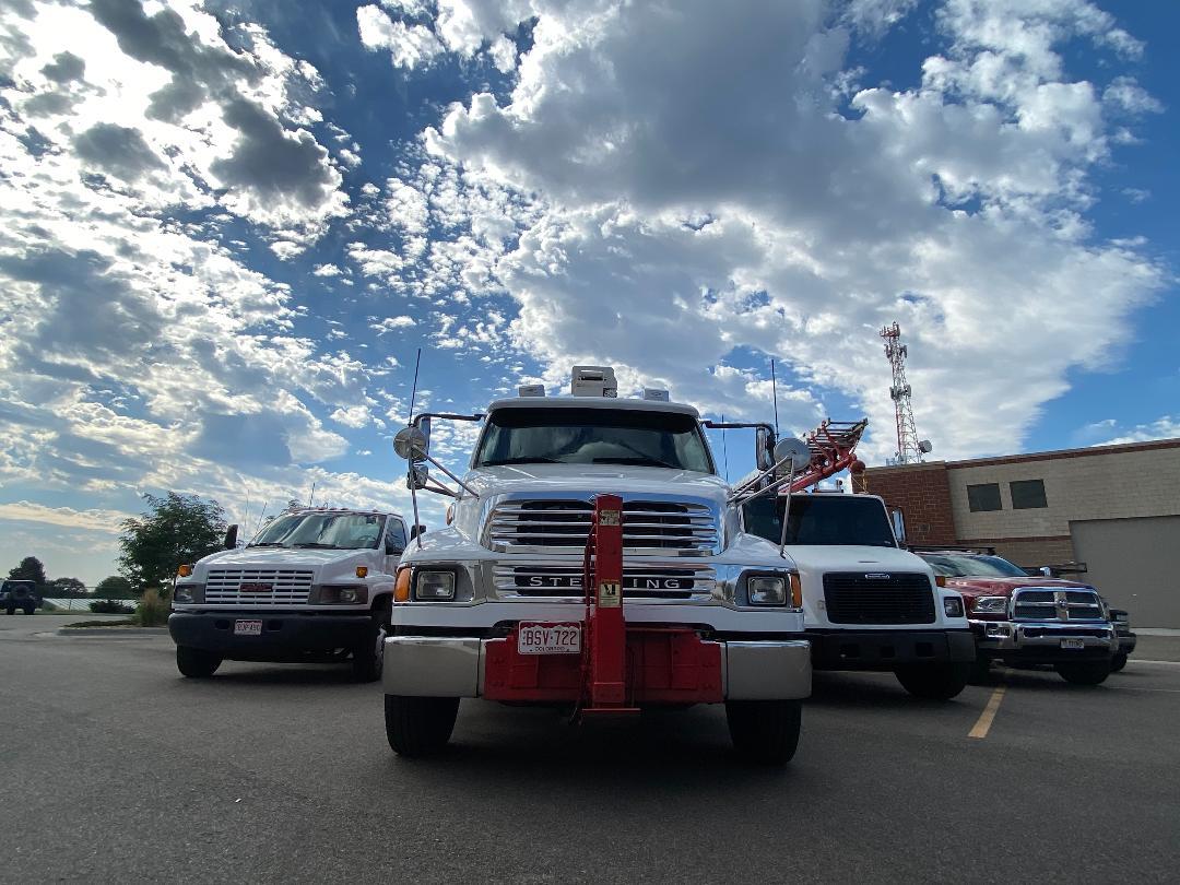 Fleet of Sign Trucks 1