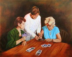 Susan Rod - Card Players
