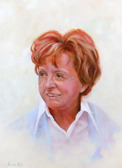 Susan Rod - Portrait of a Lady