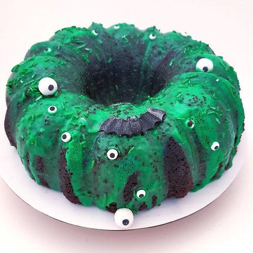 Seasonal themed Bundt cake