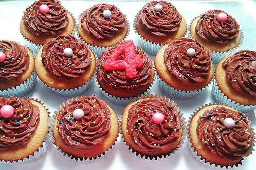 Premium Flavor Cupcakes