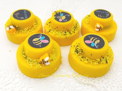 Tiered Oreos - Mini wedding cakes