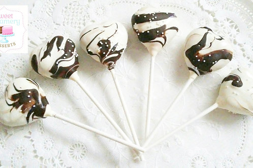 Shaped cake pops