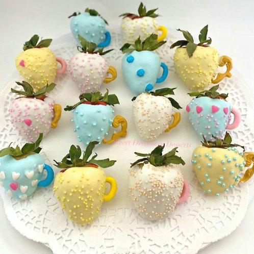 Tea Cup Strawberries