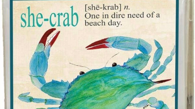 She-Crab Boxed Note Cards
