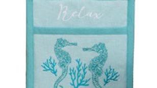 Beachcomber Embroidered Pocket Mitt