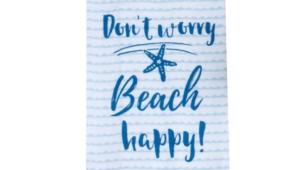 Summer Fun Beach Happy Tea Towel