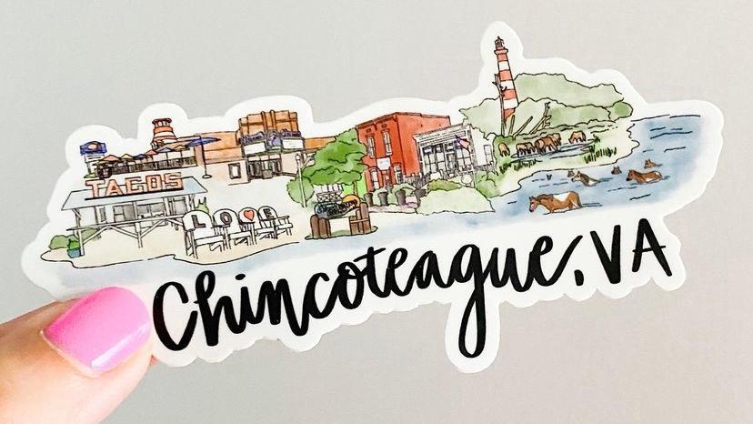 Chincoteague Sticker