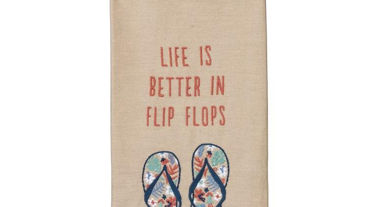 Flip Flop Dish Towel