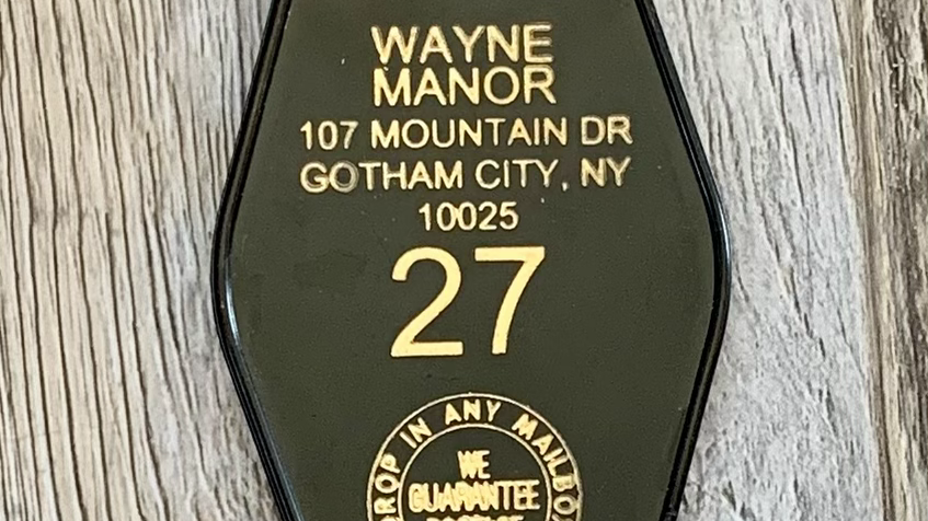 Batman Key Fob