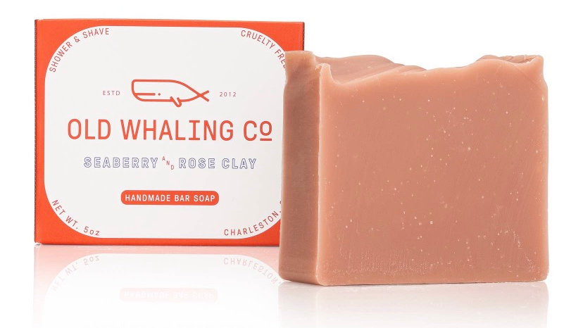 Seaberry + Rose Clay Bar Soap