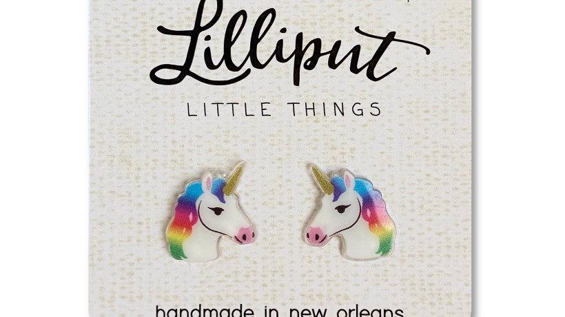 Lilliput Unicorn Earrings