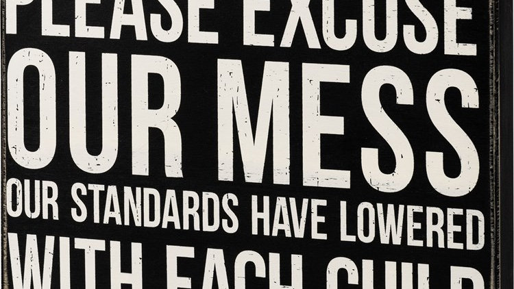 Standards Have Lowered Sign