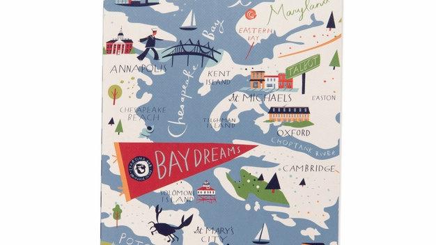 Bay Dreams Ruled Notebook 5x7