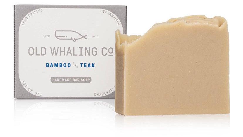 Bamboo & Teak Bar Soap