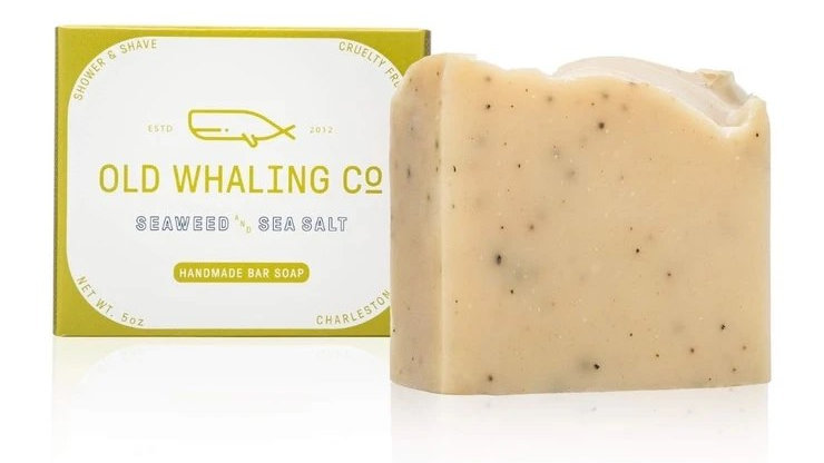 Seaweed + Sea Salt Bar Soap