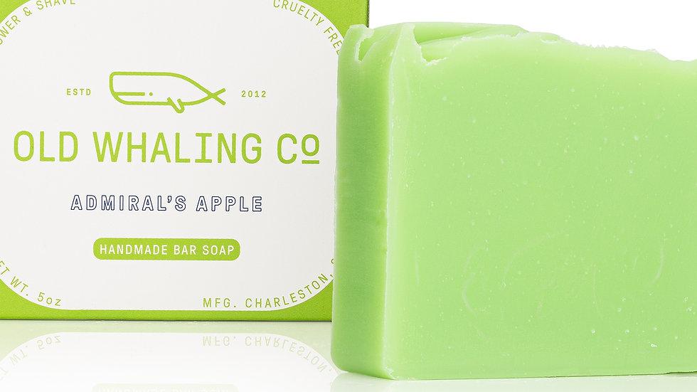 Admiral's Apple Bar Soap