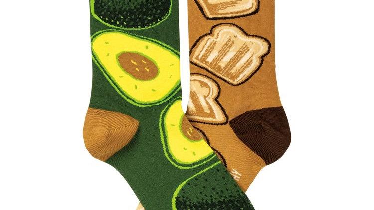 Avocado Toast Socks