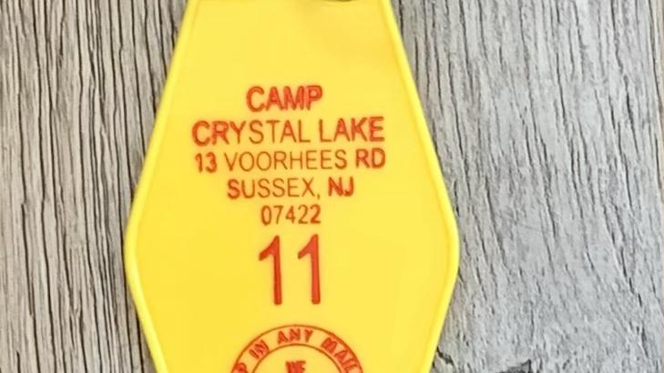 Camp Crystal Lake Key Fob