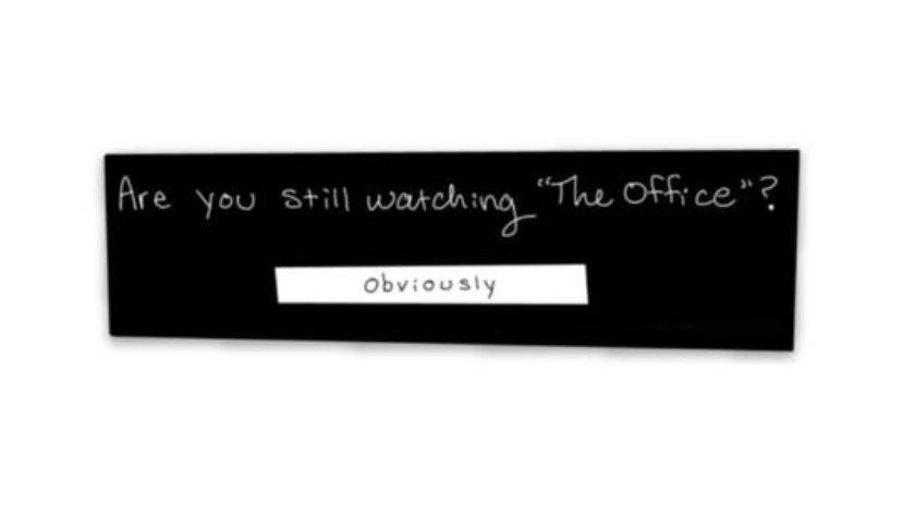 Still Watching Sticker