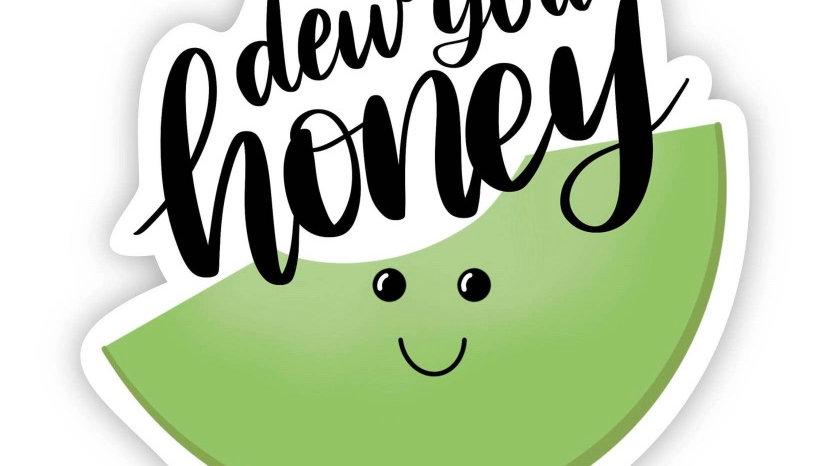 Honey Dew Sticker