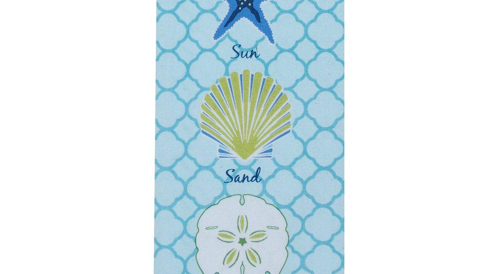 Saltwater Shells Tea Towel