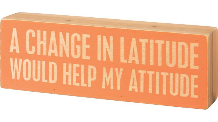 Change in Latitude Sign