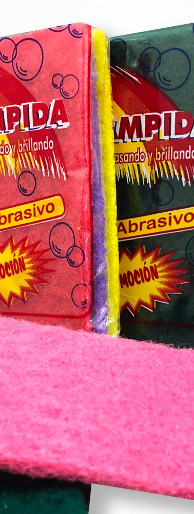 PAÑO ABRASIVO X3