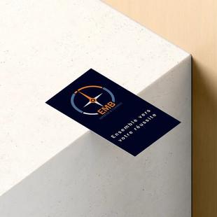 Logo et Carte de viste - EMB Conseil et Expertise