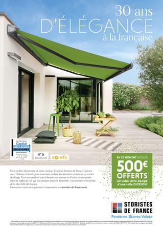 Promotion au catalogue : Dickson - Somfy