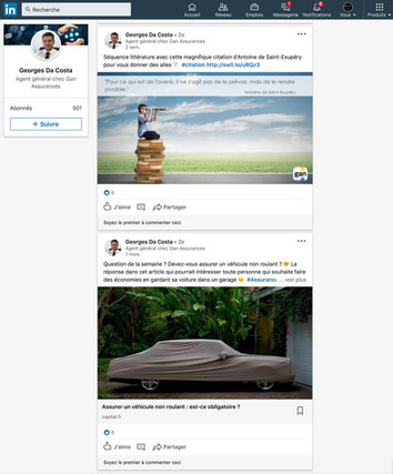 Linkedin - GAN FRANCONVILLE