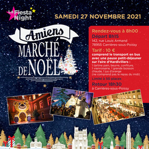 Marché de Noël : Amiens - 27 novembre 2021