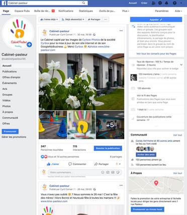 Facebook - Cabinet Pasteur - Herblay