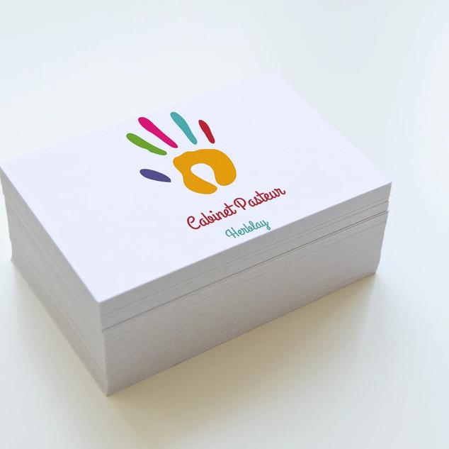 Logo et Carte de visite - Cabinet Pasteur